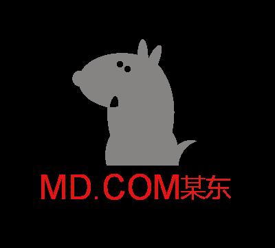 MD.COM某东logo设计