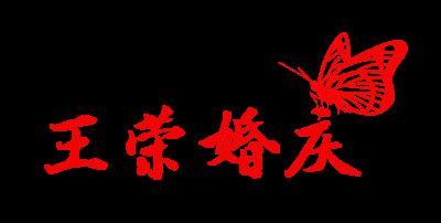 王荣婚庆logo设计