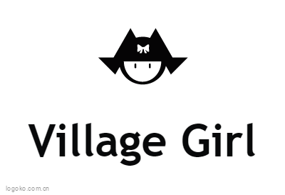 Village Girllogo设计