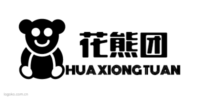 花熊团logo设计