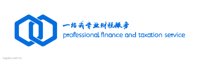 professional finance and taxation servicelogo设计