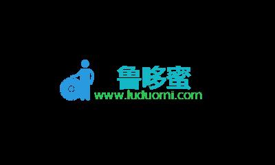 鲁哆蜜logo设计